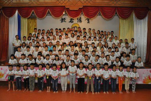 2016年周日佛学班全体师生大合照