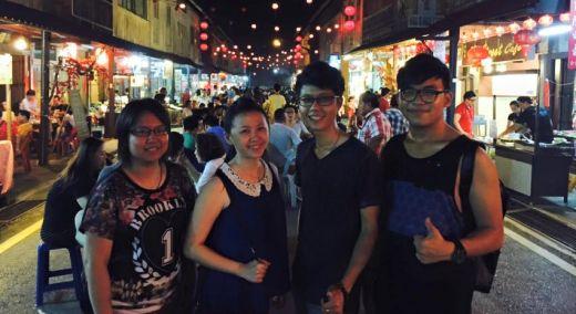 聚会:新堯灣夜街