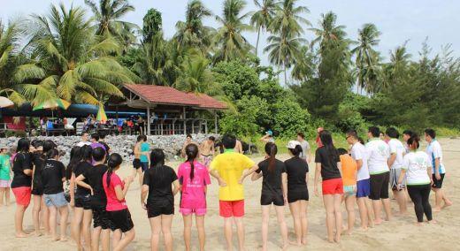沙滩游戏!