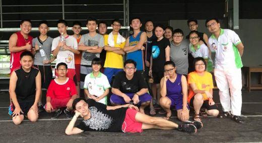 2017年少年团活动-篮球友谊赛